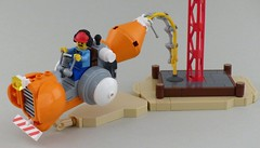 For Concrete Emergencies (concrete mixer speeder) by Tammo S.