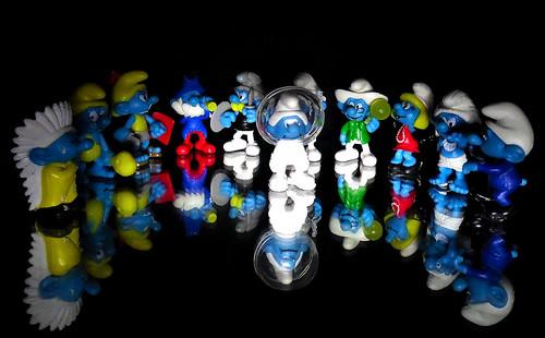Reflection smurf
