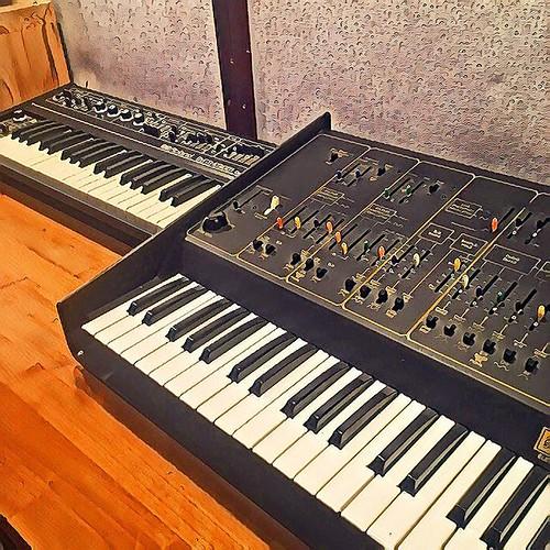 vintage #recordingstudio #roland #arp...