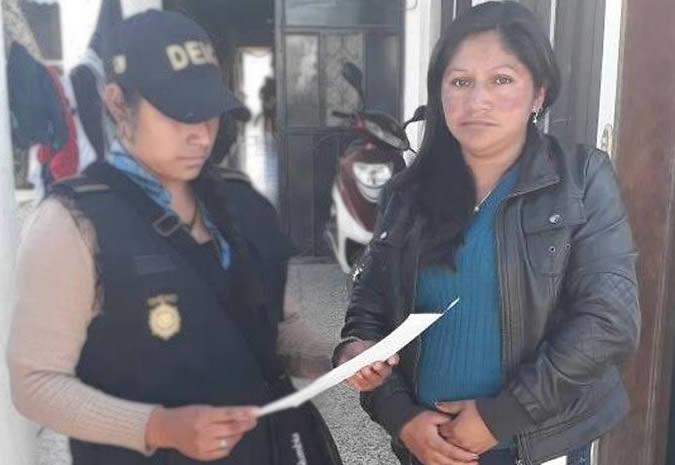 Capturada era buscada por delitos de extorisión
