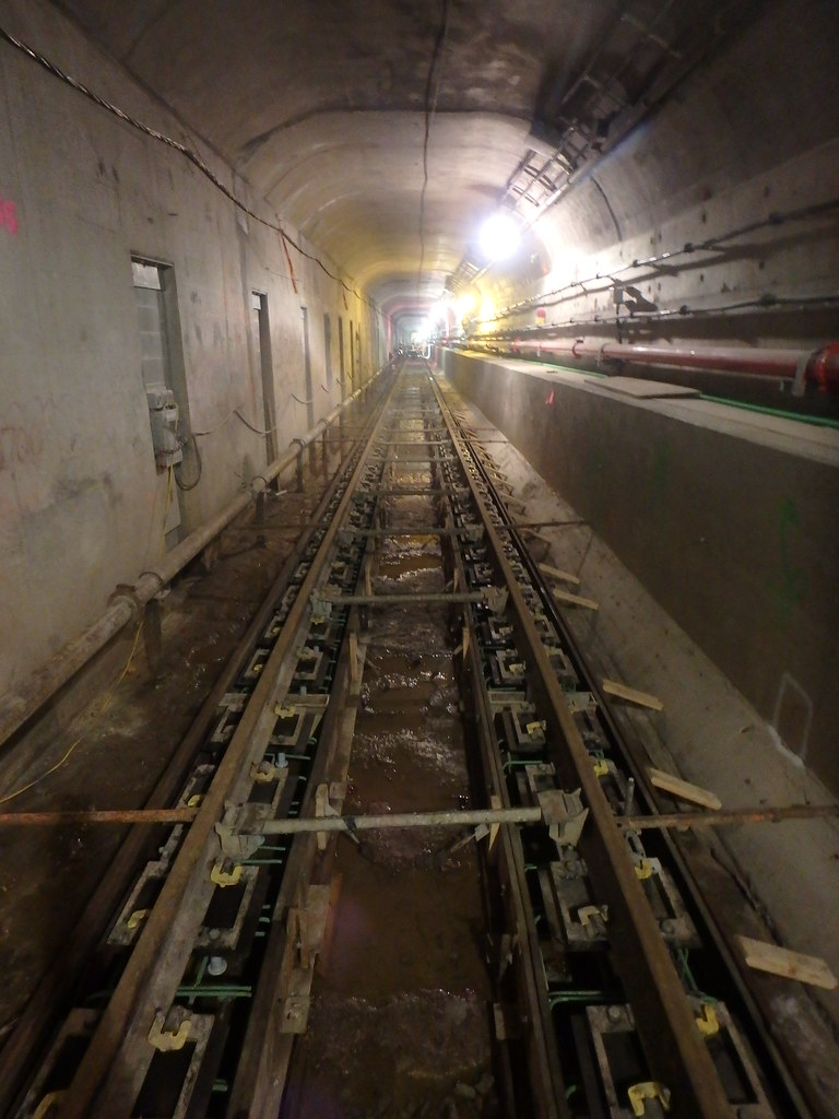 Formwork Installed In The 63rd Street Tunnel That Will Ser