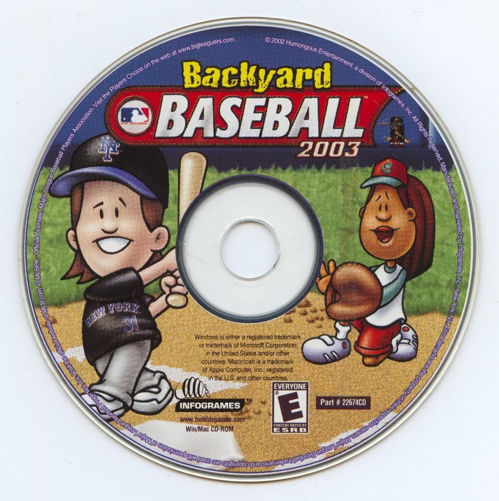 Backyard Baseball 2003 Players backyard baseball 2003 (infogrames)(22674cd) | jason scott | flickr