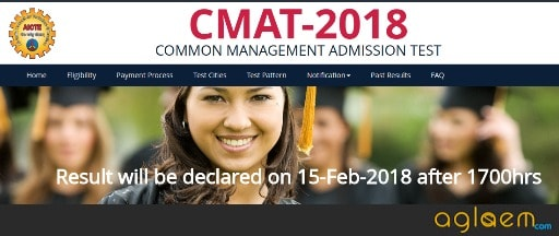 CMAT 2018 Result To Be Announced On 15th Feb 2018 After 5 PM