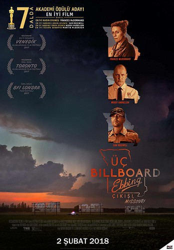 Üç Billboard Ebbing Çıkışı, Missouri - Three Billboards Outside Ebbing, Missouri (2018)