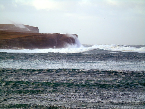 Rough sea at the bat of Skail | by stuartcroy