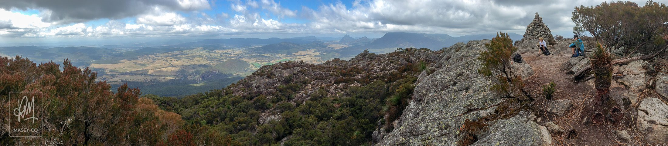 The panoramic views from the top of Mount Maroon are some of the best in South-East Queensland