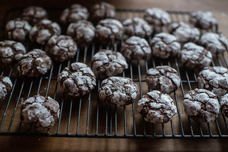 Chocolate Crinkle Cookies | by goingslowly