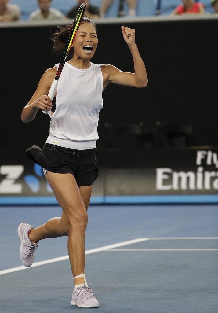 謝淑薇成功挺進女雙決賽。(達志影像資料照)