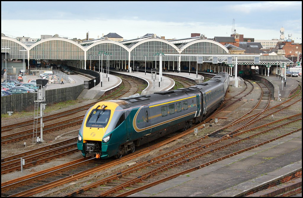 Hull Paragon Hull Trains 222 103 1A96 1706 Hull KX 2 Flickr