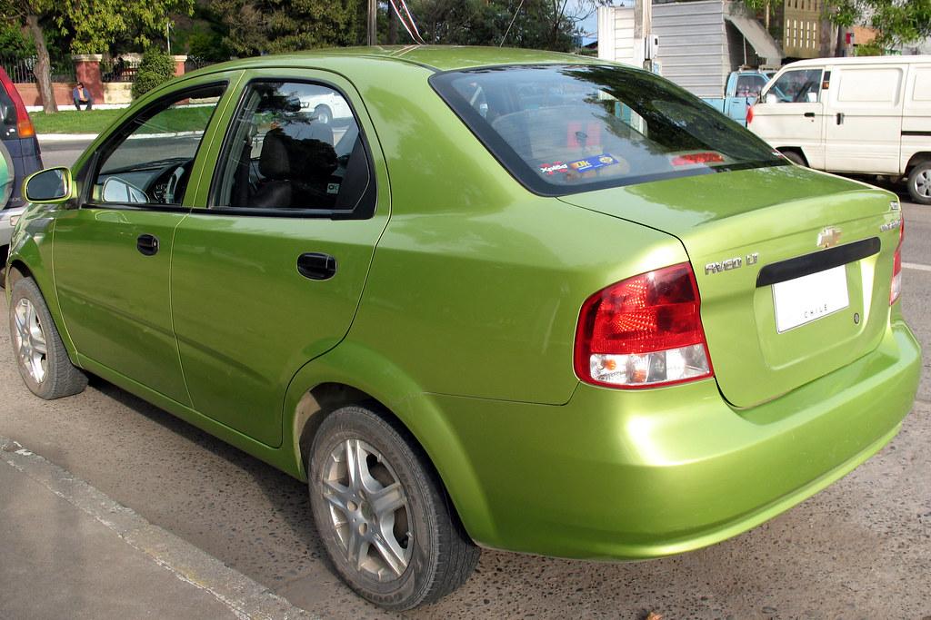 Chevrolet Aveo Lt Sedan 2004 Rl Gnzlz Flickr