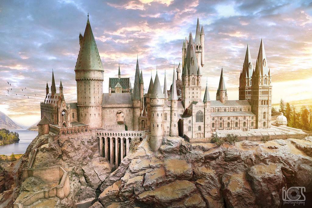 Sunrise Over Hogwarts A Morning Over Hogwarts School Of Wi Flickr