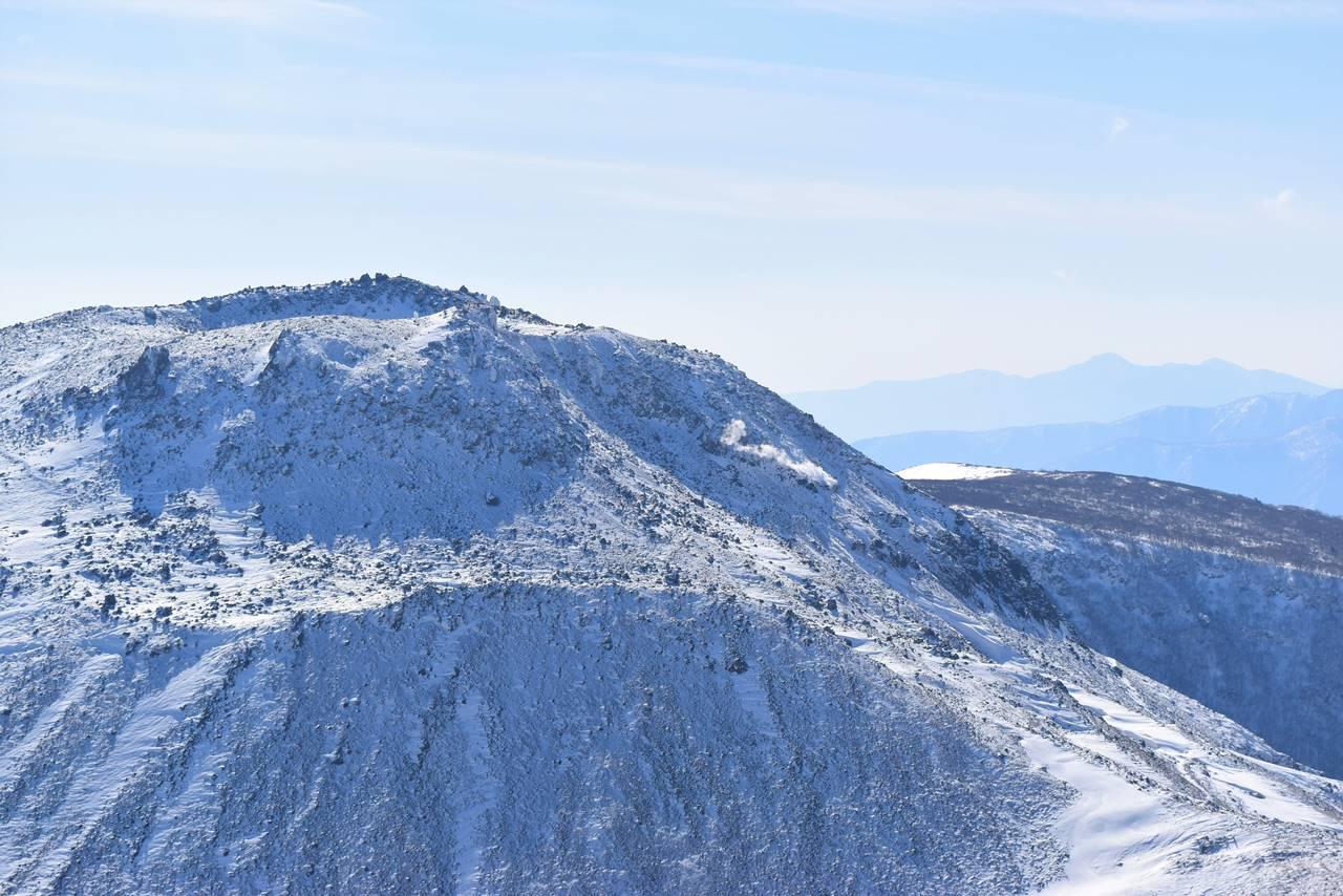 冬の那須岳・茶臼岳