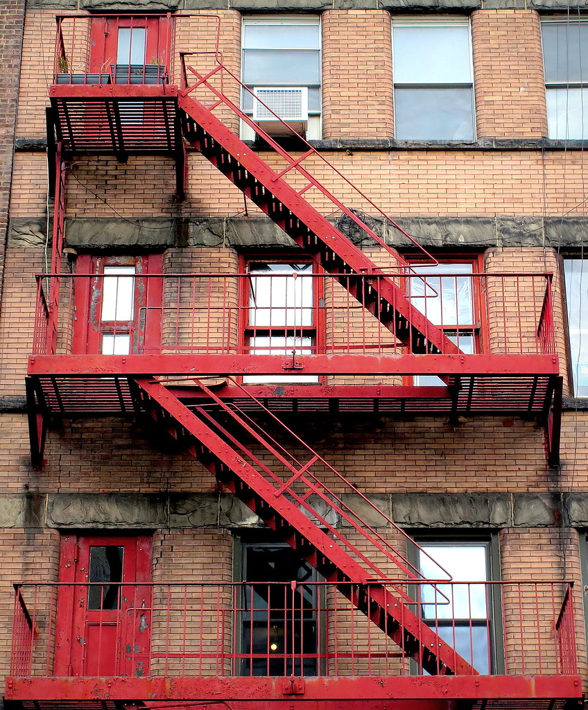 ... New York Fire Escape | By PeterCH51