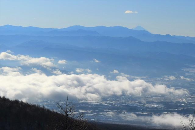 高峰高原ホテルからの富士山と雲海