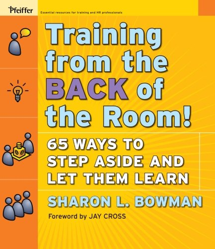 Training from the BACK of the Room ! par Sharon L. Bowman