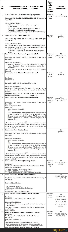 AIIMS Raipur Group C Recruitment 2017   18