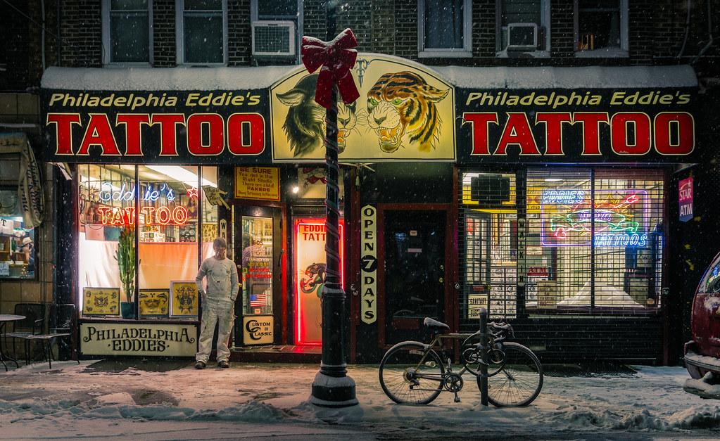 Philadelphia eddie 39 s tattoo winter at philadelphia eddie for Philadelphia tattoo shops