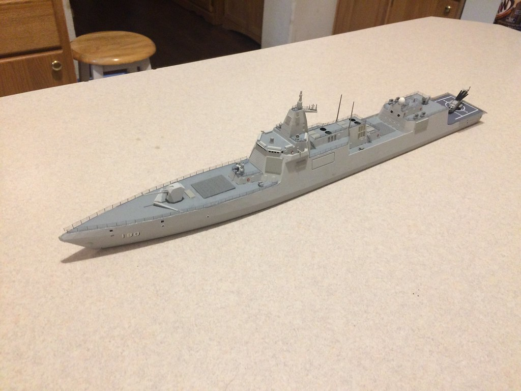 Finished model 2