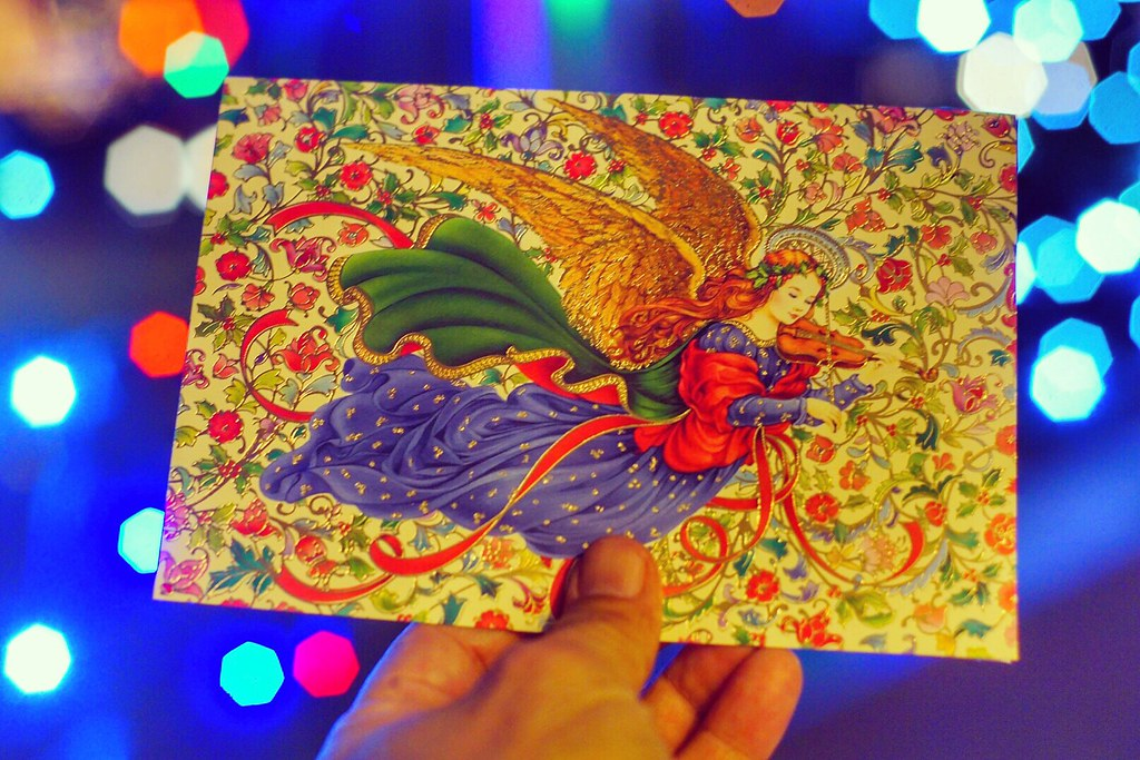I received the most beautiful Christmas card today   Flickr