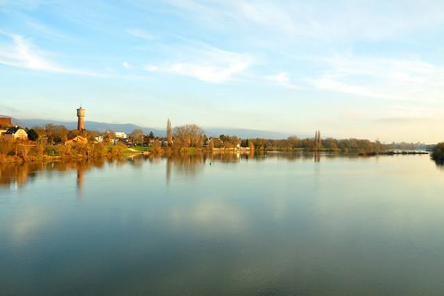 Ladenburg am Neckar ... Foto: Brigitte Stolle, Mannheim