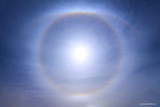 Supermoon Halo with Tangent Arcs | by gmrphoto