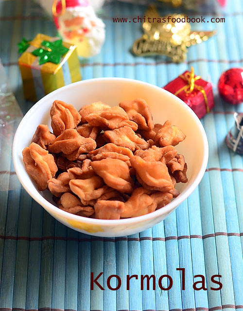 Kormolas recipe eggless kormolas goan christmas recipes kormolas is a goan special christmas sweets recipe traditionally the christmas goodies called kuswar are specially prepared by the catholics in goa and forumfinder Image collections