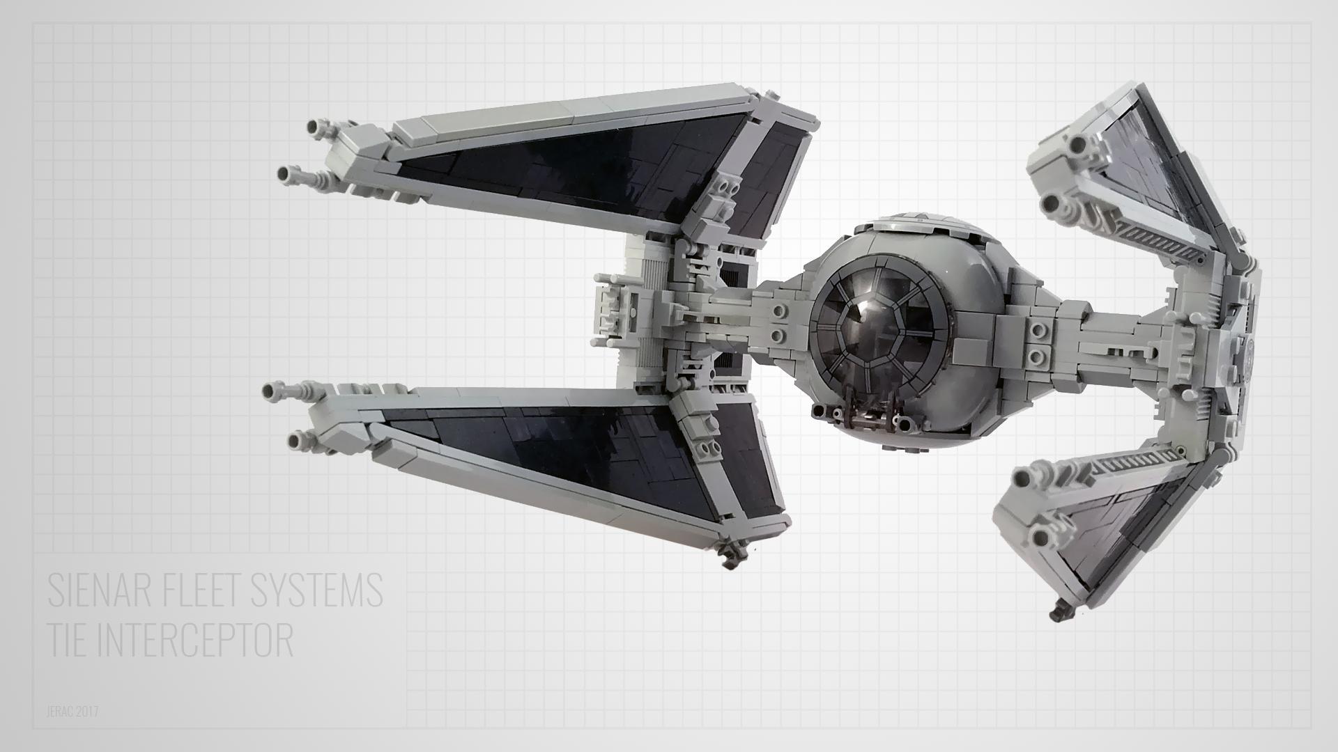 Classic Trilogy Tie Interceptor Lego