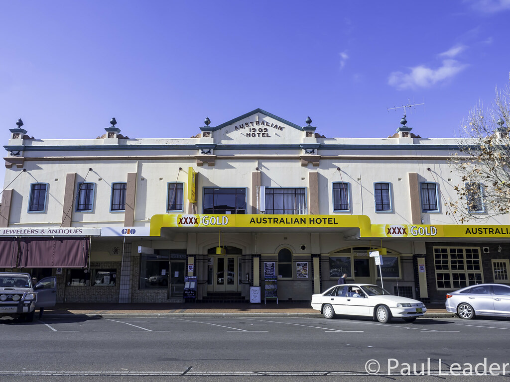 ... Australian Hotel, Inverell NSW - built 1909 | by Paul Leader - All  Rights Reserved