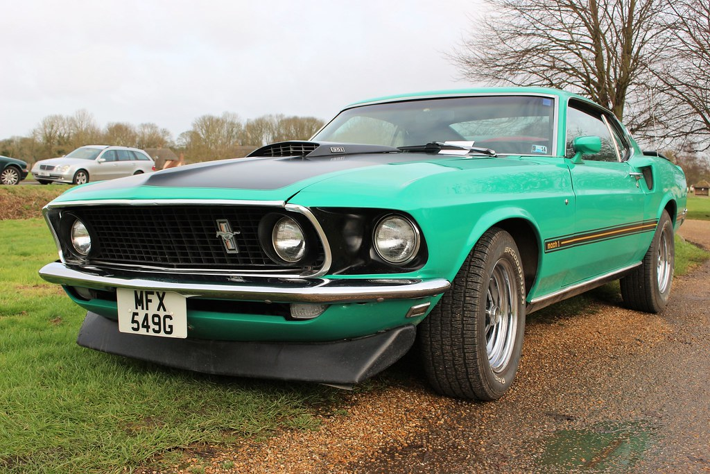 Ford Mustang Mach 1 1969 Ford Mustang Mach 1 New Year S Da Flickr