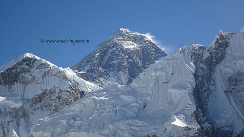 The peak of Everest | by wanderingjatin