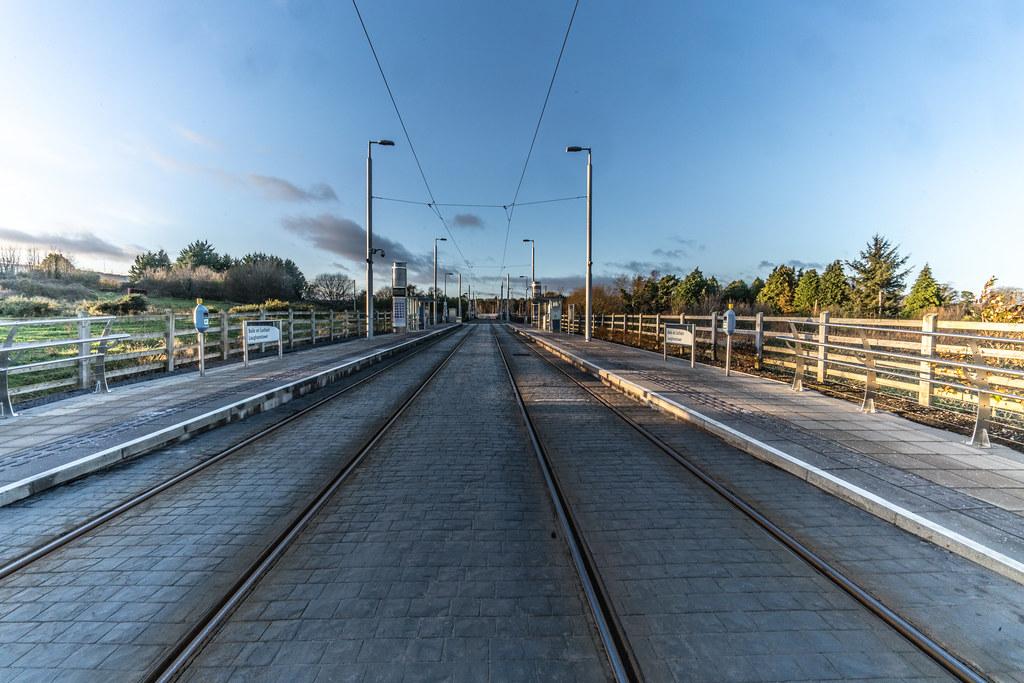 LAUGHANSTOWN TRAN STOP IN DUBLIN 004