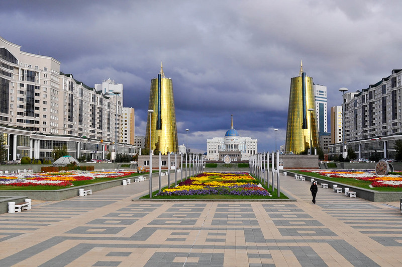 Symbol of the capital city of Astana