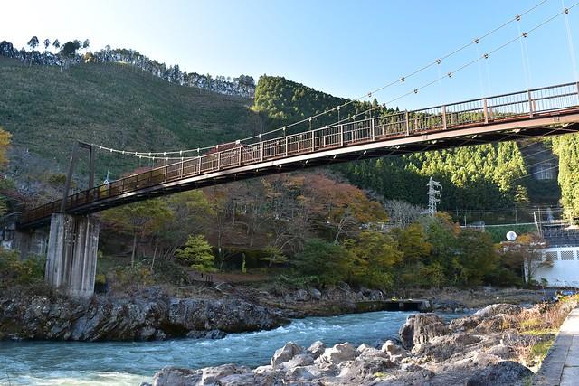 御岳渓谷・杣の小橋