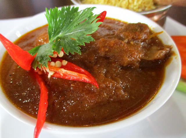 Cafe Ind mutton vindaloo