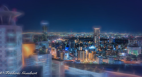 Osaka by Night | by frederic.gombert