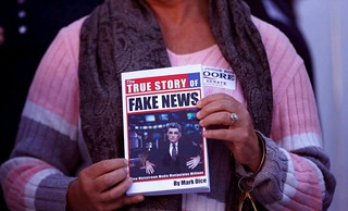 "Trying to squelch ""fake news"" 