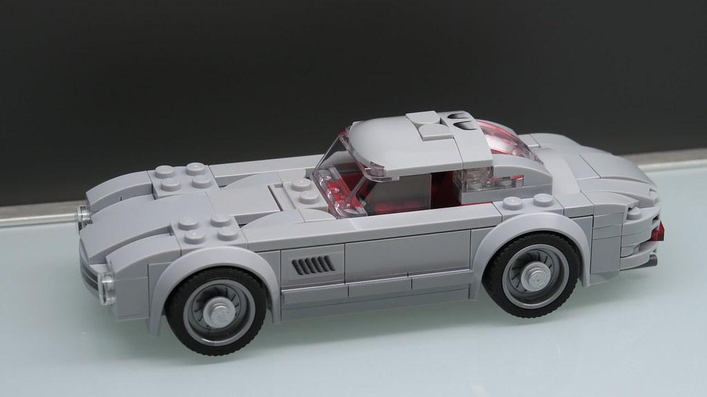 mercedes benz 300sl gullwing in lego finally found the tim flickr