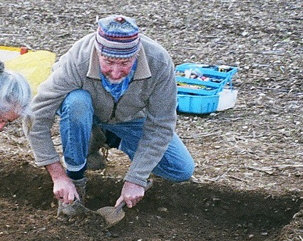 David Williams excavates the Watlington Hoard