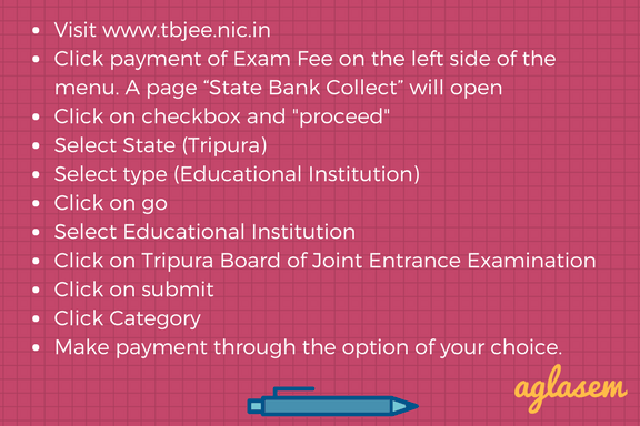TBJEE 2018 Exam on 25 and 26 April – Admit Card, Exam Pattern, Key