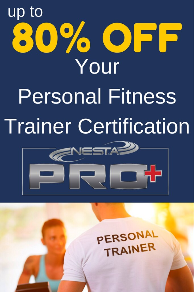 80 Off On Your Personal Fitness Trainer Certification Flickr