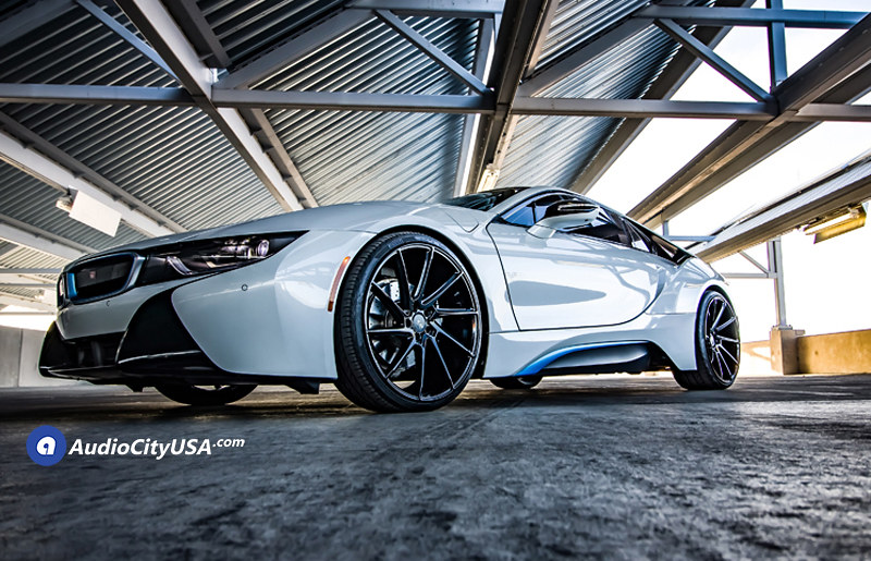 2016 Bmw I8 On 22 Savini Wheels Bm 15 Gloss Black True D Flickr