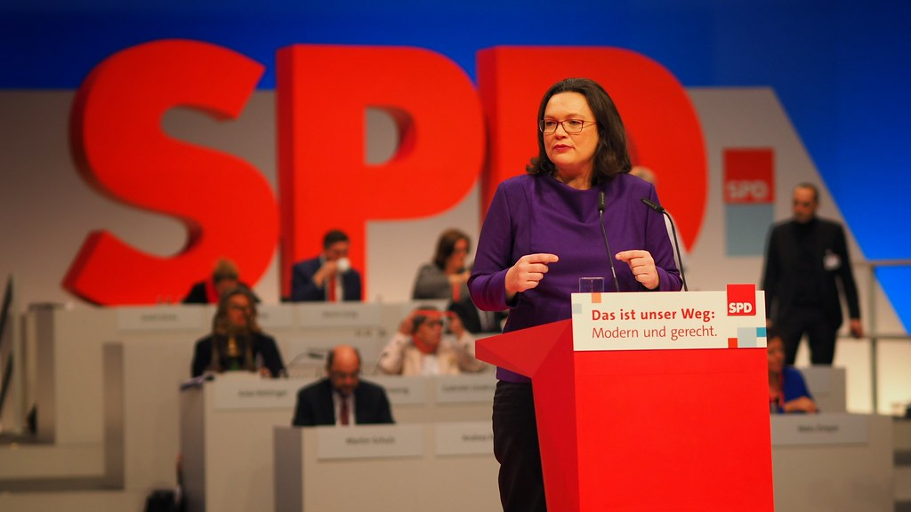 Image result for andrea nahles