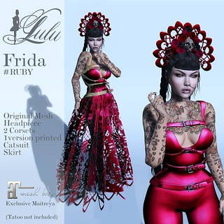 fridaRUBY | by LuLu ♛MISS-SL France 2016