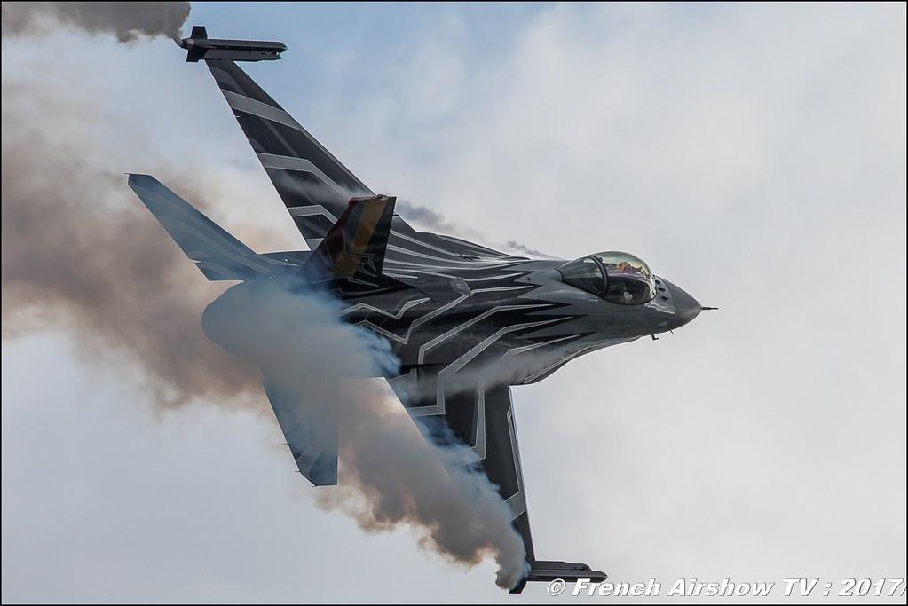 Belgian Air Force F-16 Solo Display , F-16 Demo Belgian Air Force , f-16 belge , Royal International Air Tattoo 2017 , Air Tattoo – RIAT 2017 , Fairford , UK Airshow Review 2017 , Meeting Aerien 2017