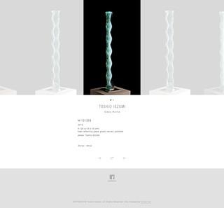 Toshio Iezumi 家住利男 | Glass Works