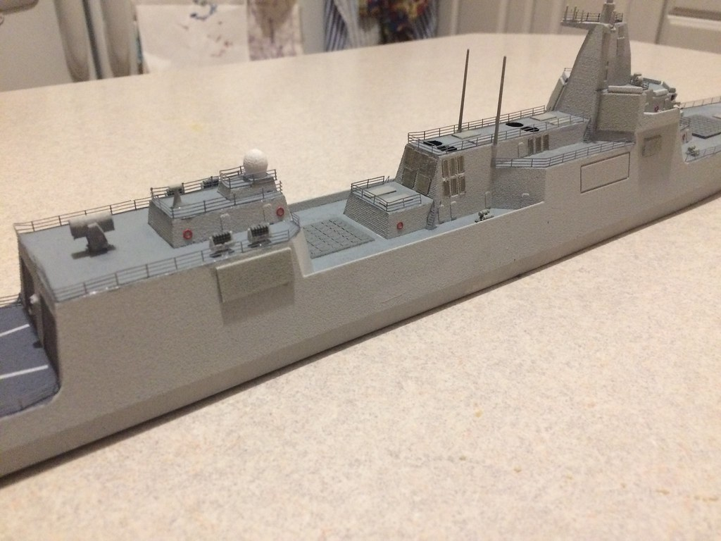 Finished model 6