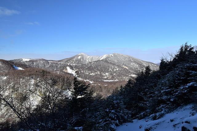 冬の水ノ塔山~篭ノ登山