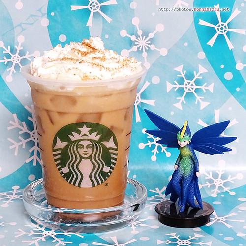 Starbucks® Iced Chestnut Praline Chai Tea Latte With Cocon
