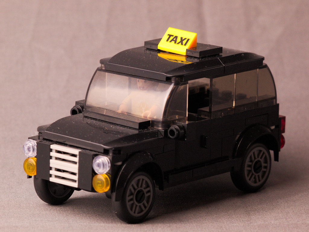 Wilko Blox Black Cab | Antony Jordan | Flickr