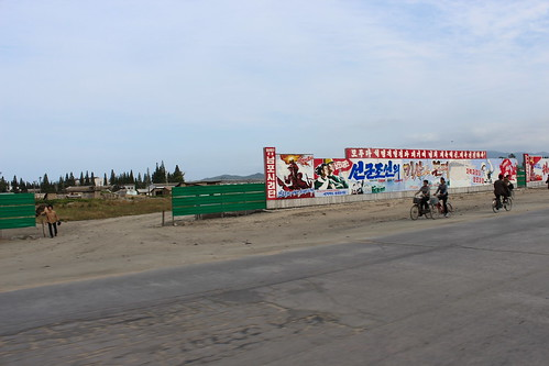 Propaganda in the outskirts of Wonsan | by Timon91